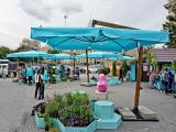 Фотография объявления Уличные зонты на боковой и центральной опоре