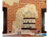 Имитация состаренного кирпича и камня внутри помещений.Ремонт ванных комнат.Ремонт квартир под ключ