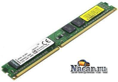 Модуль памяти DDR-III DIMM 2 GB PC-12800 KINGSTON KVR16N11/2 Тип памяти DDR3 SDRAM Объем 4096 МБ Час...