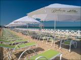Цена: 18900 руб.  Пляжный зонт этого типа удобен и функционален. Он: отличная защита от солнца и лет...