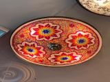 Шикарная люстра с яркой мозаикой ручной работы освежит интерьер,добавит шарма .Подходит для любых по...