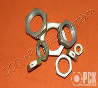 Изготовим гайку для крепления соединений трубопроводов по наружному конусу ГОСТ 13958-74 из Ст.45, а...