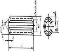 Штифт пружинный цилиндрический с прорезью ГОСТ 14229-93 широко применяется в промышленных отраслях