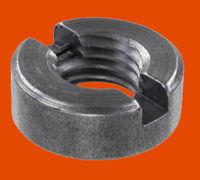 Изготовим гайку круглую со шлицем на торце ГОСТ 10657-80. Класс точности: В. Производятся изделия с