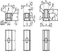 Специализируемся на производстве шпонок призматических привертных ГОСТ 14737-69, предназначенных для...