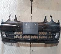 Продам передний бампер на мерседес w211 дорестайлинг в сборе с ПТФ и антеной. Снят с аукционного Япо...
