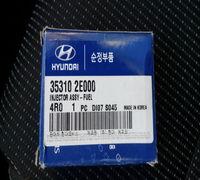 Орегинальная форсунка топливная КИА Спортедж 4 (номер запчасти по каталогу 35310 2Е000), так же подх...