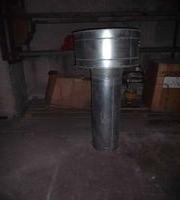 Зонт вентиляц. в комплекте с воздуховодом dу 30*2м, цена договорная, самовывоз. Местонахождение: г