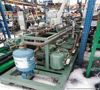 Морозильный агрегат б/у на базе 3х низкотемпературных компрессоров bitzer 4g-30.2y-40p. В эксплутаци...