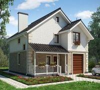 Теплый красивый дом под ключ , один из самых лучших вариантов! Домокомплект со строительством/ матер...