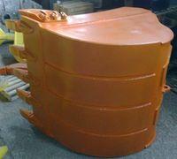 Ковш обычный Doosan 225 255. Объем 1 м3. Изготовим ковши для любых экскаваторов. Изготовим однозубые...