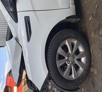 Крыло переднее левое Киа Рио 3 Белое в родной краске с небольшим дефектом Бу, оригинал  Звоните всег...