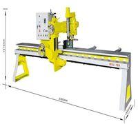 Станок MBJ-10D для фрезеровки и шлифовки торцов на гранитных и мраморных плитах при изготовлении сто...