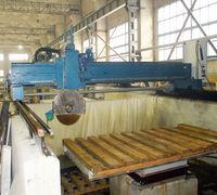 Станок мостовой распиловочный АМПИР для изделий из гранита и камня, подобных материалов. Размеры обр...