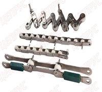 Предлагаем к поставке любые виды нержавеющих цепей (приводные роликовые, тяговые пластинчатые, вильч...