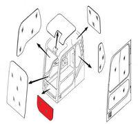 Продаем Стекло лобовое нижнее (триплекс) 20Y-54-51812/ 20Y-54-51601 KOMATSU серии PC-7