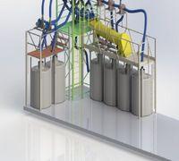 Принцип действия: Сырье поступает через приемное сопло в пневматическую транспортную трубу, где цент...