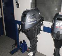 Мотор лодочный Yamaha F20BES, нога S, наработка 31 моточас, с электростартером, под дистанцию. В иде...