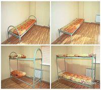 Кровати металлические(армейского типа) от 1400р, в основе сварная, жесткая сетка. Одноярусные и двух...
