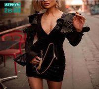 Продам шикарное вечернее платье Luxe качество размеры 42,44,46-S,M,L Материал велюр Длина 77см. Прои...