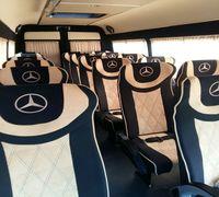 Наша компания производит установку сидений в автобус. Монтаж сидений в микроавтобусе может осуществл...