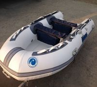 Лодка РИБ Stormline Standard 340 (no console) изготовлена по заказу группы компании Globaldrive с ис...