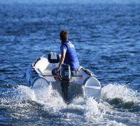 Лодка РИБ Stormline Standard 360 (no console) изготовлена по заказу группы компании Globaldrive с ис...
