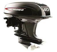 Приемлемое качество при невысокой цене являться 2х-тактный лодочный мотор Hidea HD 40FES-T.  \ud83...