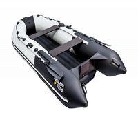 Ривьера 3200 НДНД - это лодка ПВХ с новейшей конструкцией килевого надувного дна низкого давления