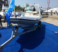 Лодка РИБ Stormline River Drive Extra 500 изготовлена по заказу группы компании Globaldrive с исполь...
