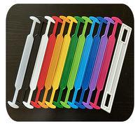 Производство и продажа из наличия одноэлементных пластиковых ручек для коробок из картона и прочей