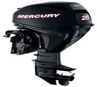 Новый 4х-тактный 3-х цилиндровый лодочный мотор Mercury Mercury F25M EFI с прямым впрыском топлива