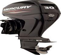 Новый 4-тактный 3-цилиндровый Mercury ME F 30 M GA EFI оснащен системой электронного впрыска топлив...