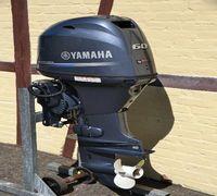 Четырёхтактные подвесные лодочные моторы Ямаха 60 л.с. с удлинённым дейдвудом электрическим стартер...