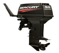 Двухтактные моторы Mercury средней мощности работают ровно и не перегреваются! Каждая модель оснаща...