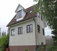 Продается в прямой продаже загородный 3 -х этажный дом без внутренней отделки с участком 8,43 сот