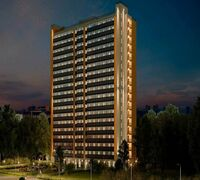 Продам апартаменты 1 к.кв. 36 кв. м.: 13 этаж. Авеню апарт на Дыбенко.Невский район,Товарищеский пр...