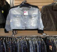 Продам действующий бизнес, отдел джинсовой одежды в торговом центре. Площадь в аренде. Недорого