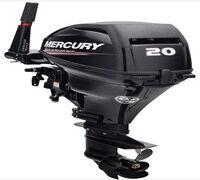 Новый подвесной мотор Mercury F 20 M предназначен для малых надувных и алюминиевых лодок. Бесшумност...