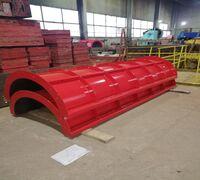 Производство металлоконструкций, производство круглых колонн любой высоты и сечения