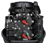 Лодочный мотор MARLIN 40 HP порадует вас своей мощностью и высокой надежностью.  Двухтактная схема