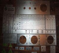 Шильдики. Таблички для токарных станков 1к62, 1к62д, 1в62, 1в62г, 16в20, 16к20, 16к25,16к40, 1м63 в...