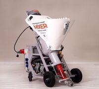 MIXER - высокопроизводительная компактная штукатурная станция, работающая от сети 220в, а также мул...
