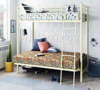 Большой выбор двухъярусных, двуспальных металлических кроватей в интернет-магазине «ПОКУПКИ.СОМ». Ра...