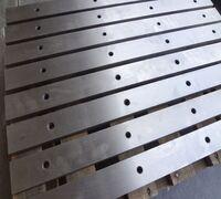 Ножи для рубки листовой стали 510х60х20мм комплект 8 штук для гильотин сталь 6хс,6хв2с, х12мф в Мос...