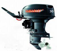 Современный высокоскоростной двухтактный двухцилиндровый мотор Yamabisi T30BMS отличается удобством...