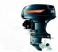 Мощный современный двухтактный двухцилиндровый мотор Yamabisi T30BWL-R мощностью 30 л.с. – это идеа...