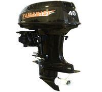 Надежный и долговечный двухтактный двухцилиндровый мотор Yamabisi T40BWL-R предназначен для установ...