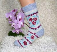Богатый ассортимент чулочно-носочных изделий и рукавиц торговой марки ❞Стильная Шерсть❞ п...