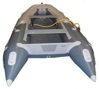 Лодка Badger Fishing Line AirDeck 300 ― трёхместная надувная лодка ПВХ с жёстким поперечным транцем...